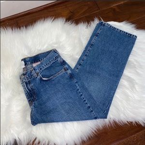 VTG Lucky Brand Jean Crops Size 8/Size 29